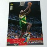 1995-96 Upper Deck Collector's Choice #201 Shawn Kemp Seattle Supersonics Card